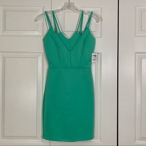 Charlotte Russe mint green spaghetti strap dress s